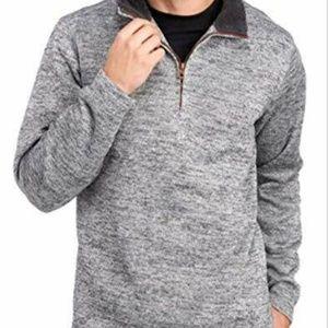 Weatherproof Men's ¼ Zip Sweater Fleece Pullover